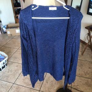 Sweaters - Hooded cardigan